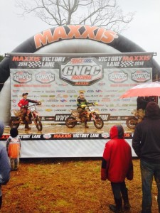 Cobra Moto GNCC 65 cc 7-9 winner Lucas Grounds