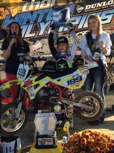 Cobra Moto's 2014 Mini Os champ Ryder DiFrancesco