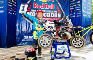 Cobra Moto's Casey Cochran podium