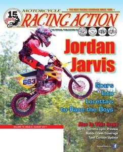 MotorcycleRacingActionAugust2011CoverJordanJarvis